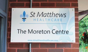 St Matthews Healthcare - The Moreton Centre
